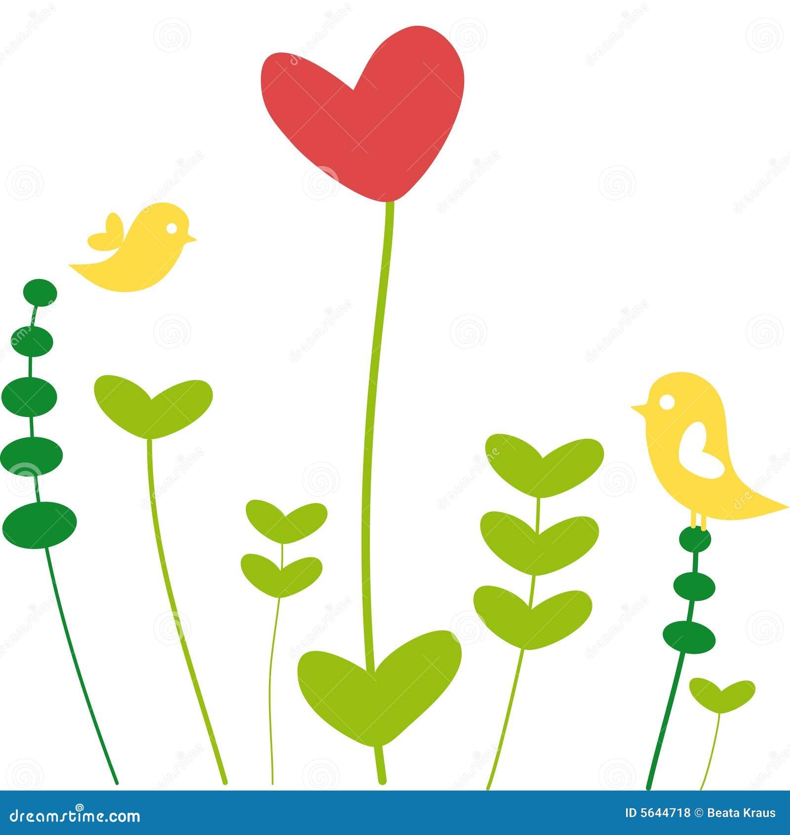 Kwiat serce