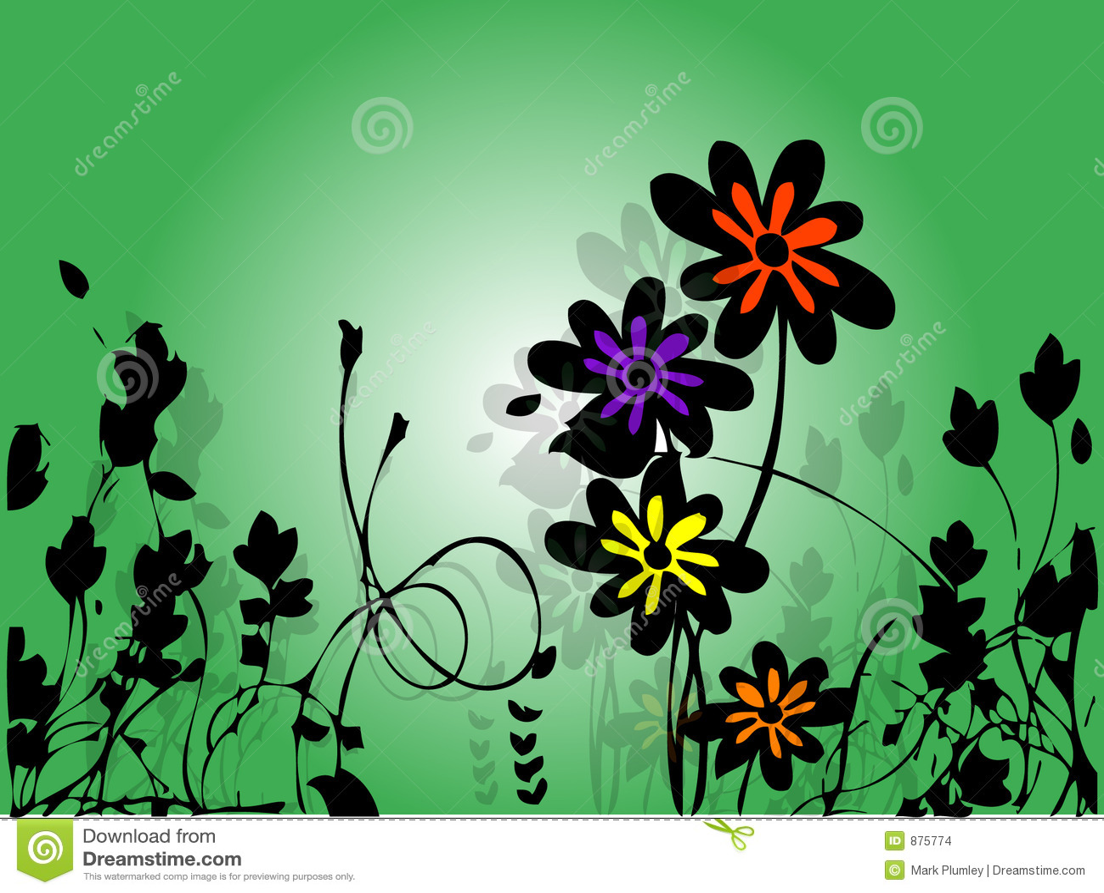 Kwiat tło