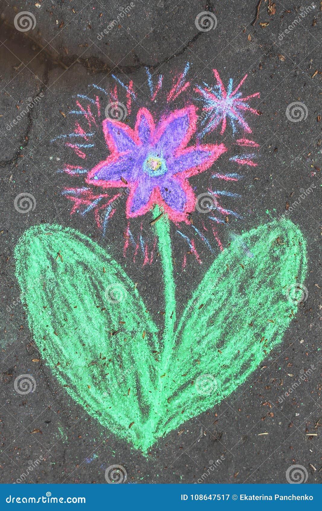 Kwiatu kawałek kreda