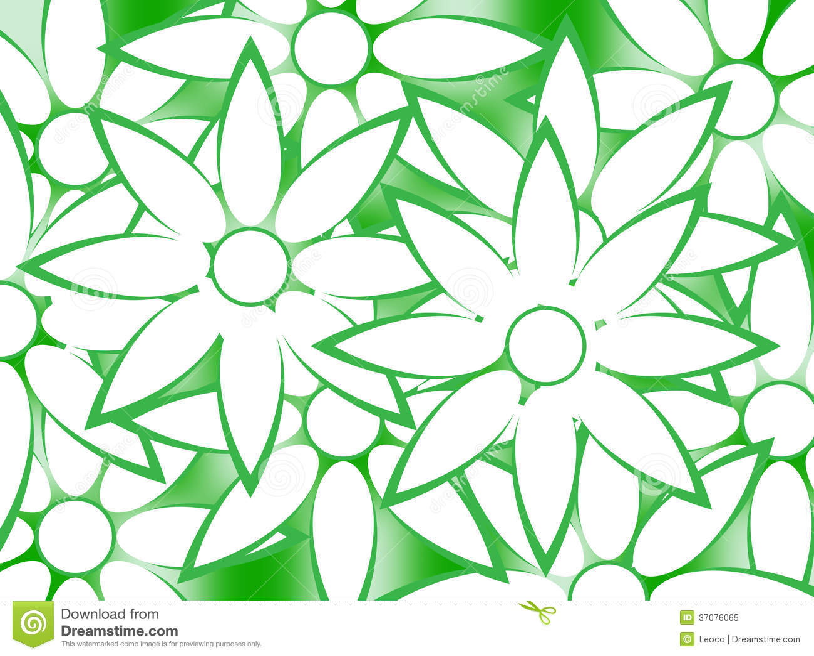Download Kwiaty ilustracji. Ilustracja złożonej z flory, kontur - 37076065