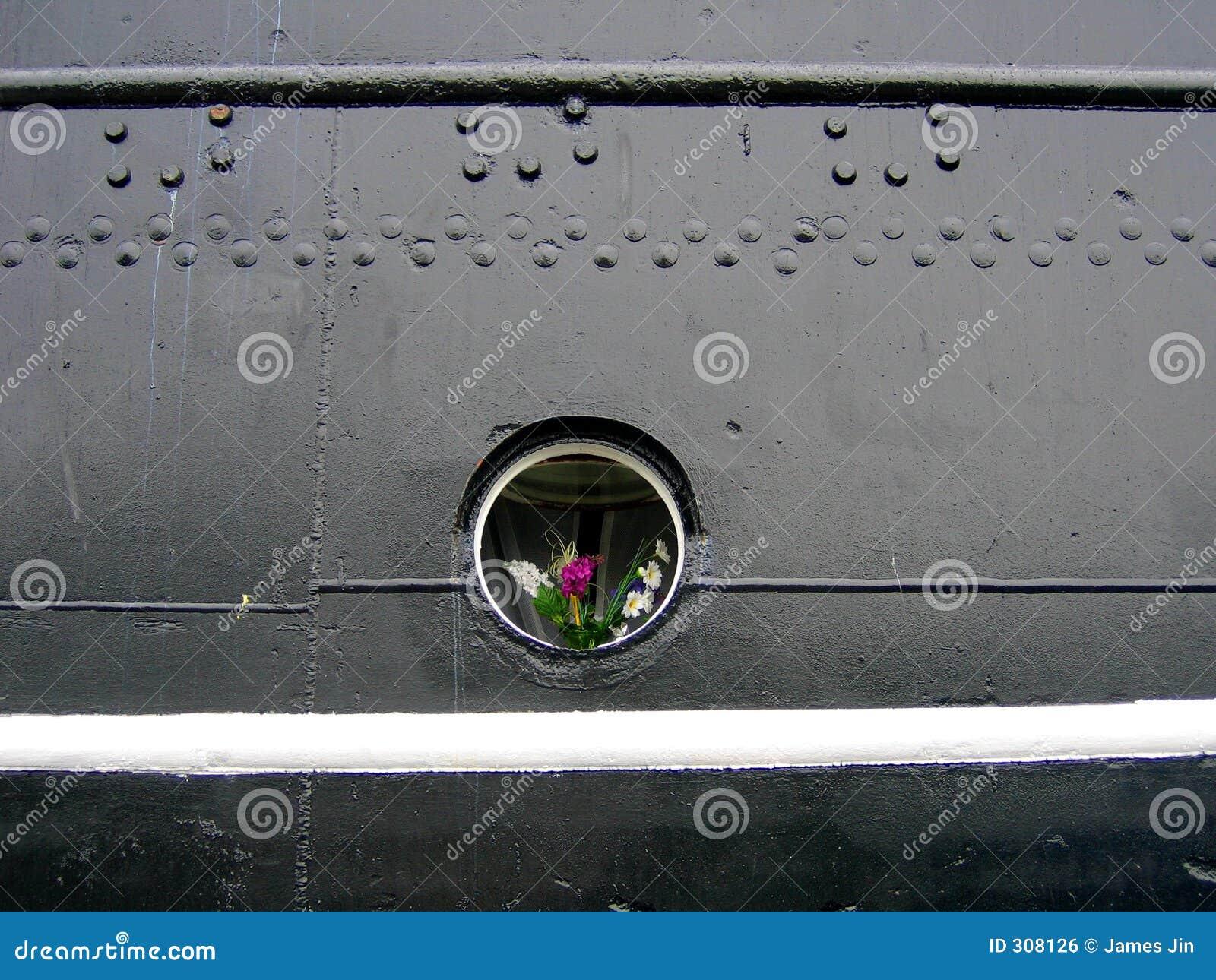 Kwiaty porthole