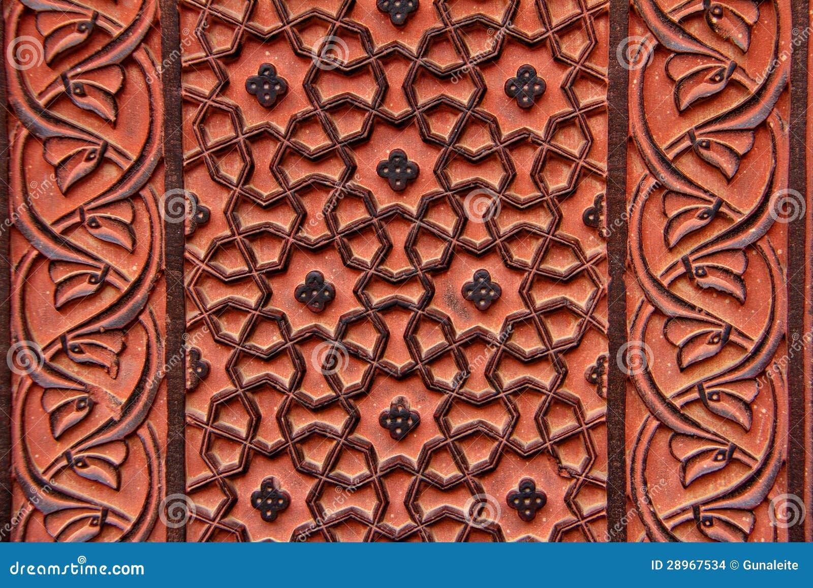Kwieciści ornamenty w Fatekhpur Sikri