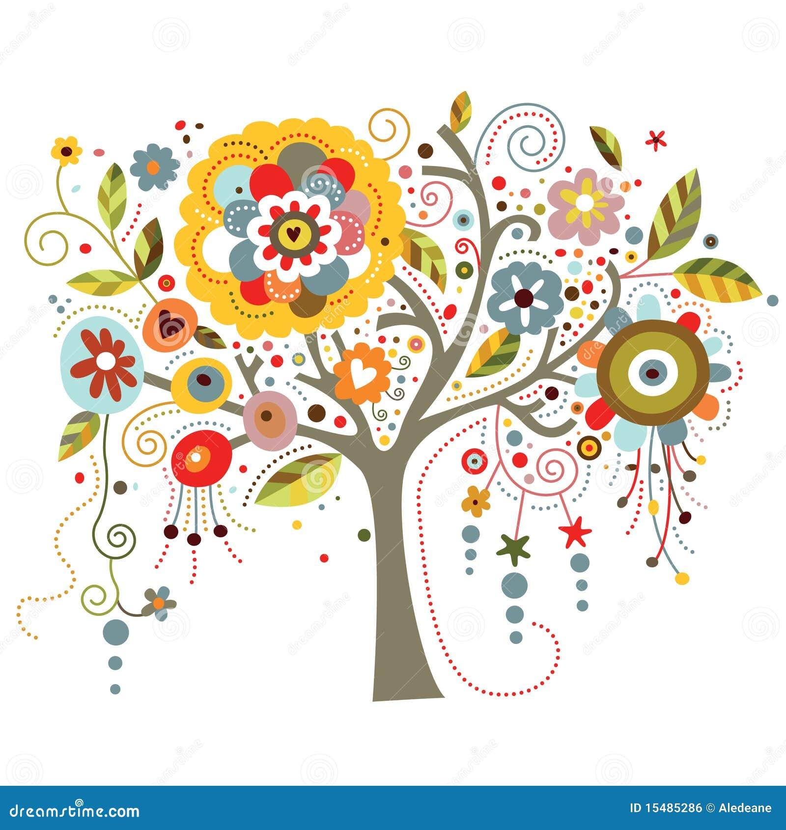 Kwitnący drzewo