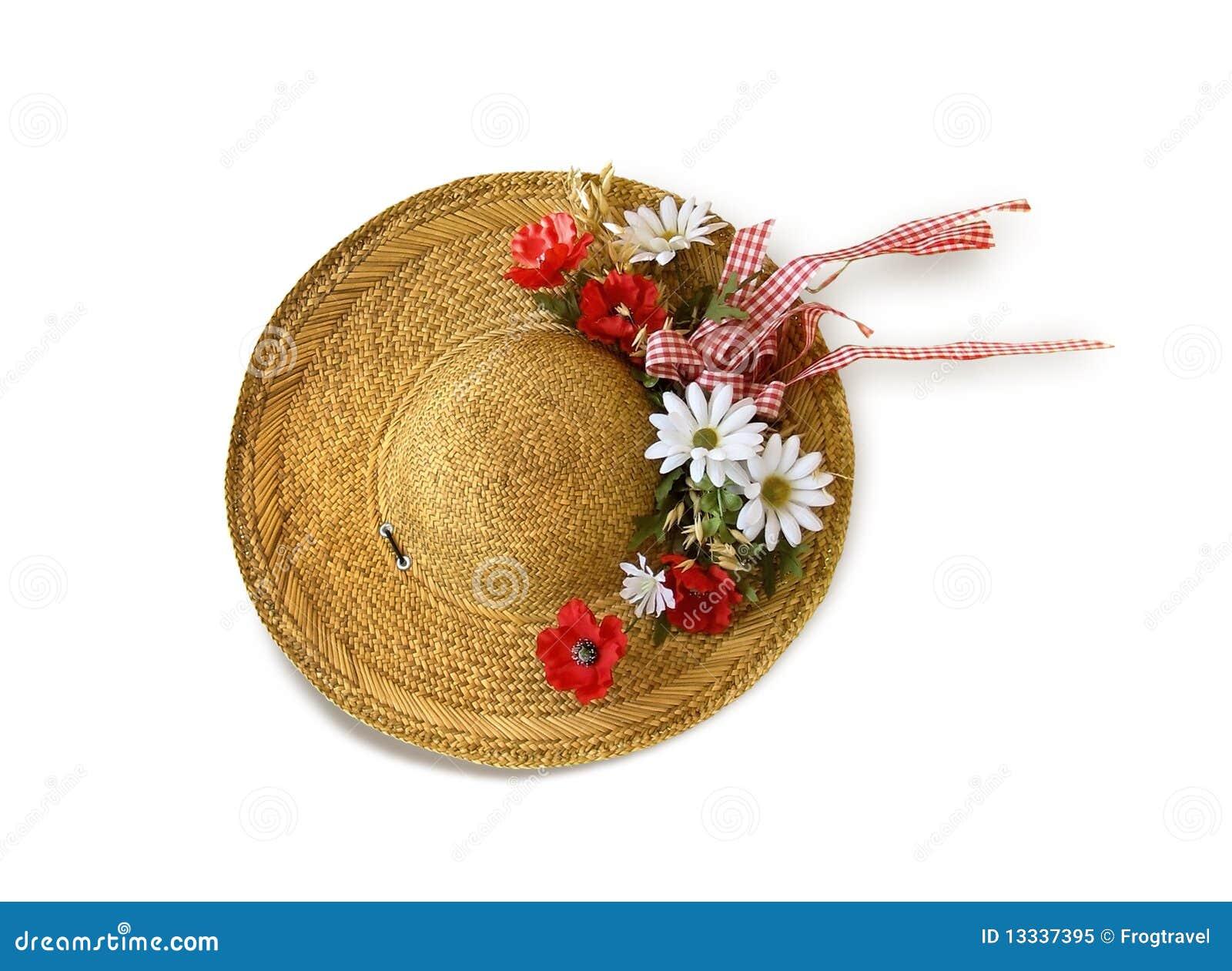 Kwitnie kapeluszową słomę