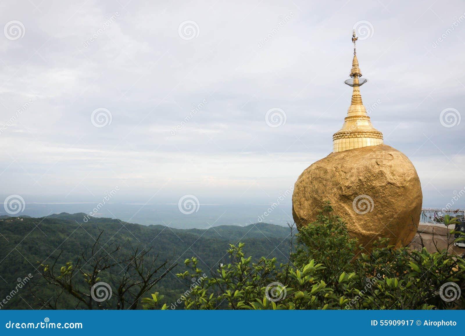 golden rock myanmar how to get there