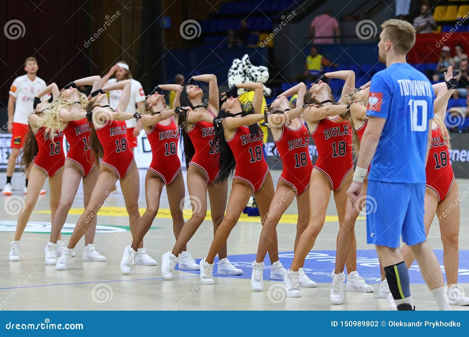 Ehf Euro 2020 Qualifiers Handball Game Ukraine V Denmark