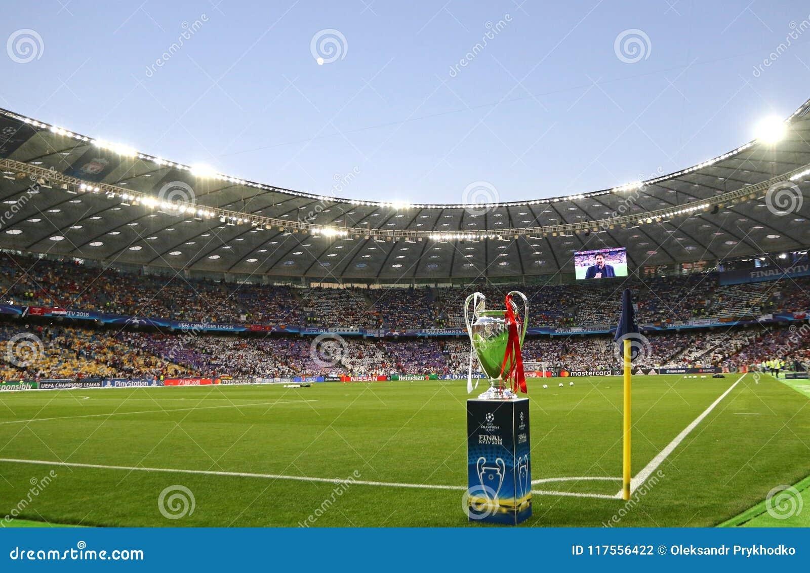 UEFA Champions League Final 2018 Real Madrid v Liverpool, Kiev,