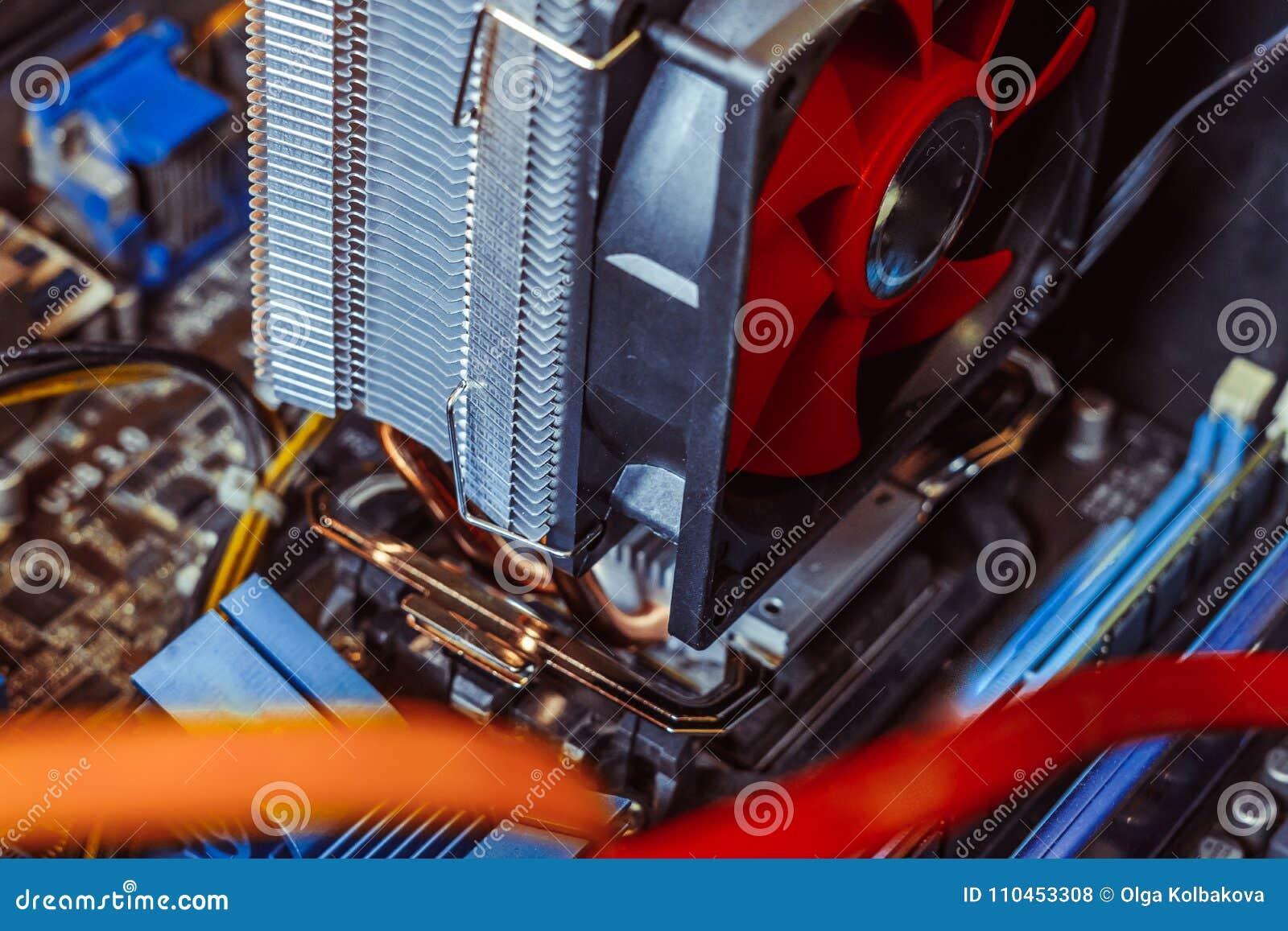 Kylare på processorn