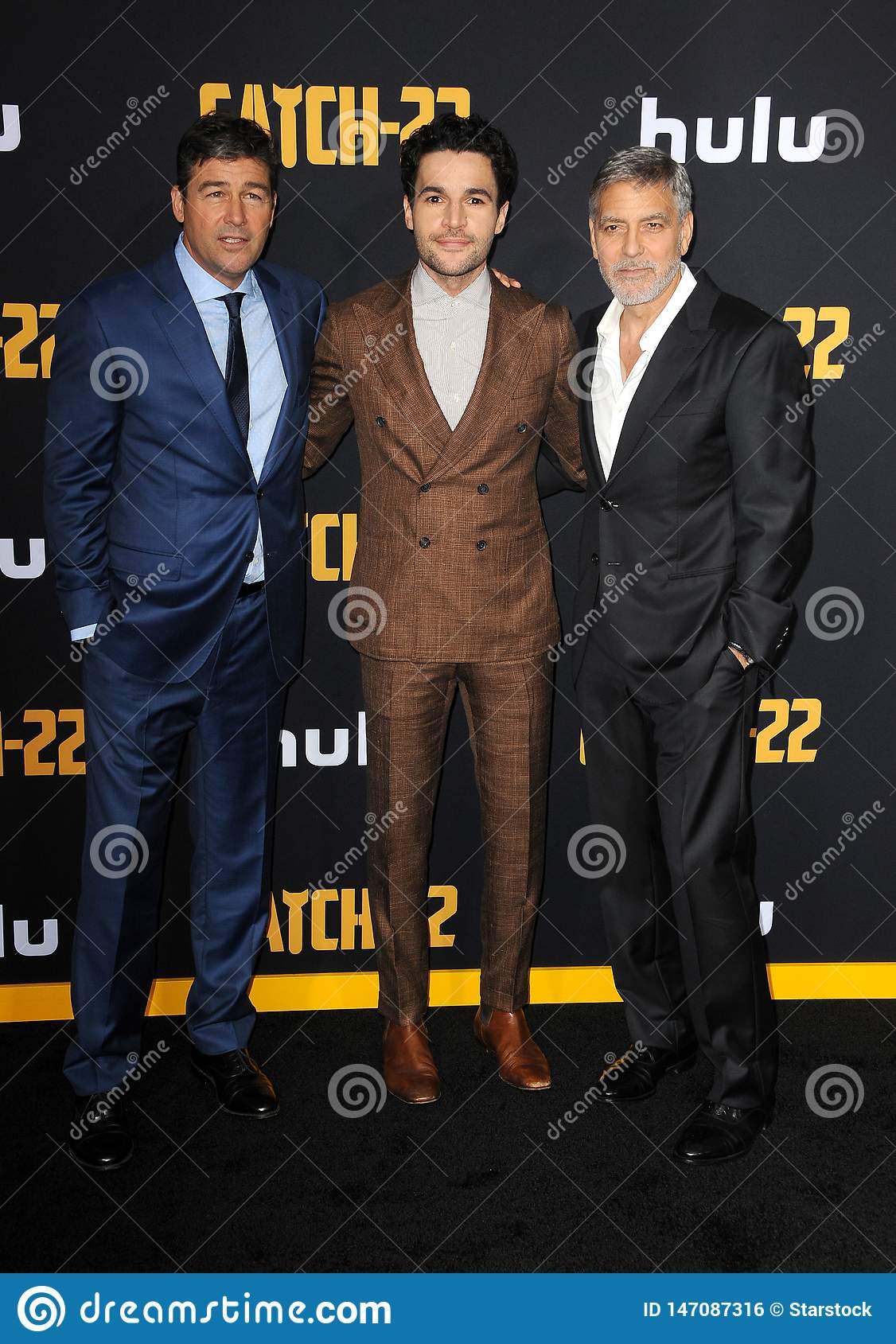 Kyle Chandler, Christopher Abbott and George Clooney