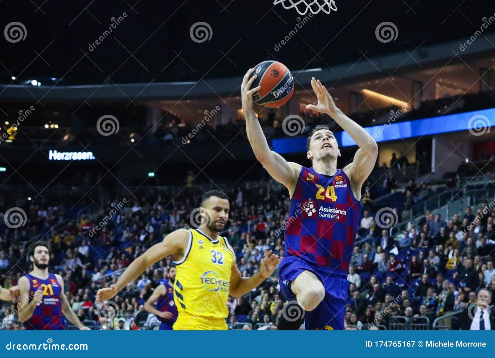 Kyle Kuric Of Fc Barcelona Basketball Editorial Photography Image Of League Jump 174765167
