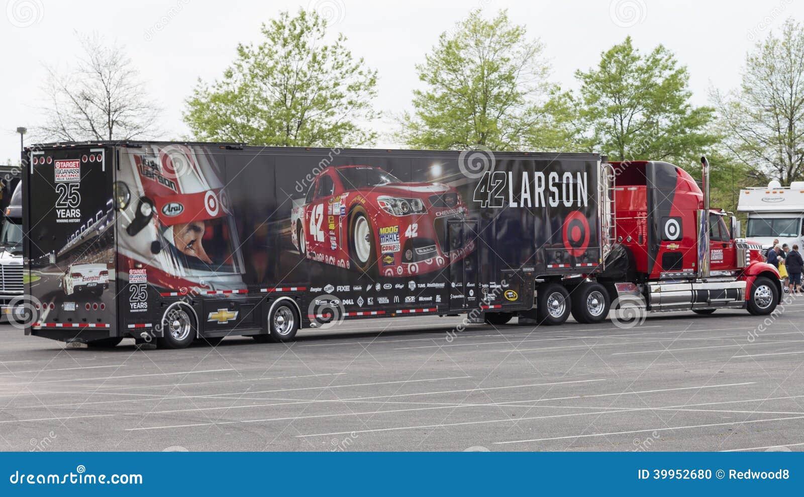 Kyle Larson 42 Nascar Editorial Image Image Of Chevrolet