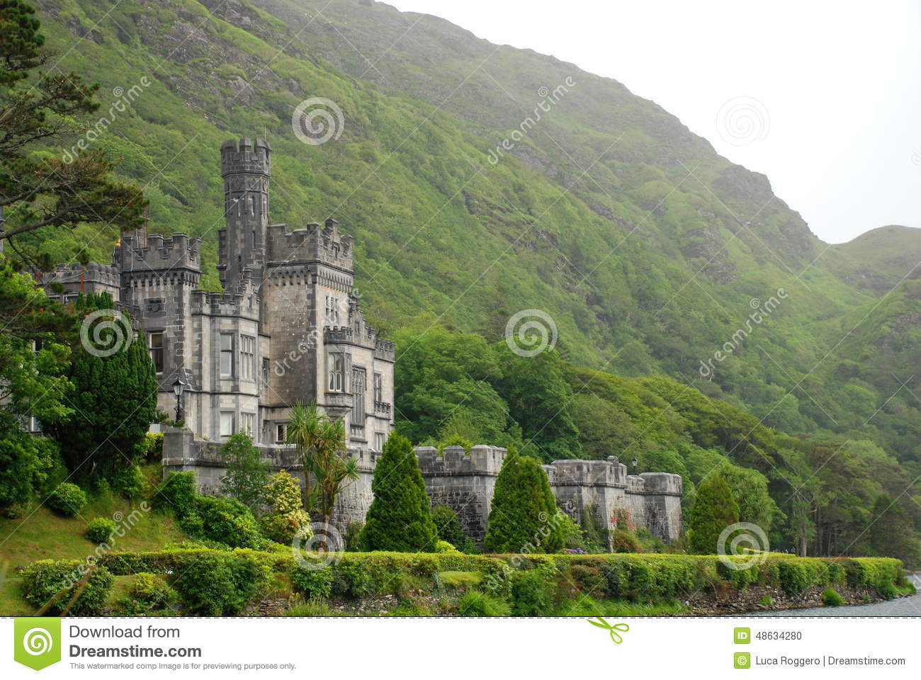 Kylemore Abbey. County Galway, Ireland