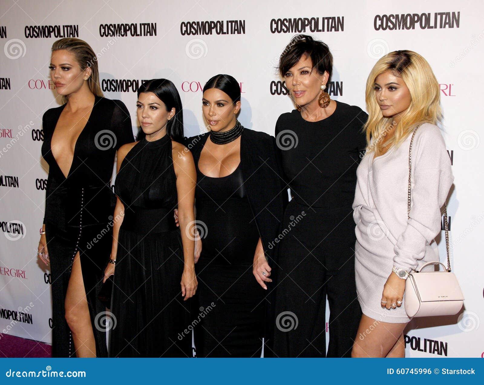 Kylie Jenner, Kris Jenner, Khloe Kardashian, Kourtney Kardashian e Kim Kardashian