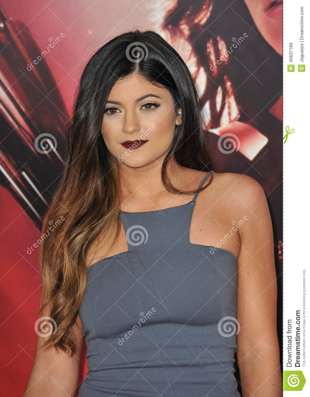 Kylie Jenner Editorial Stock Image Image Of Length Famous