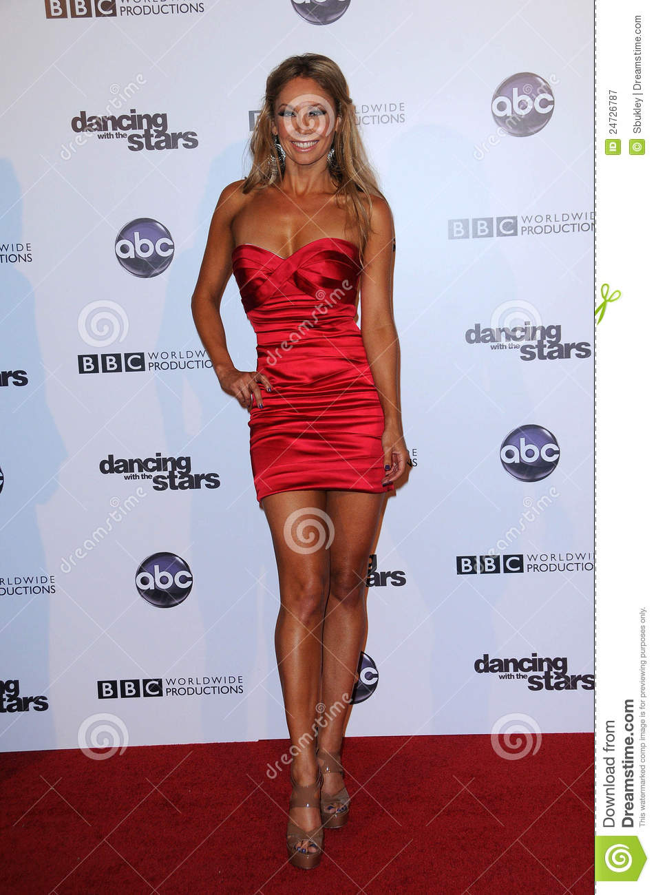 Kym Johnson at the Dancing With The Stars 200th Episode, Boulevard 3 ...