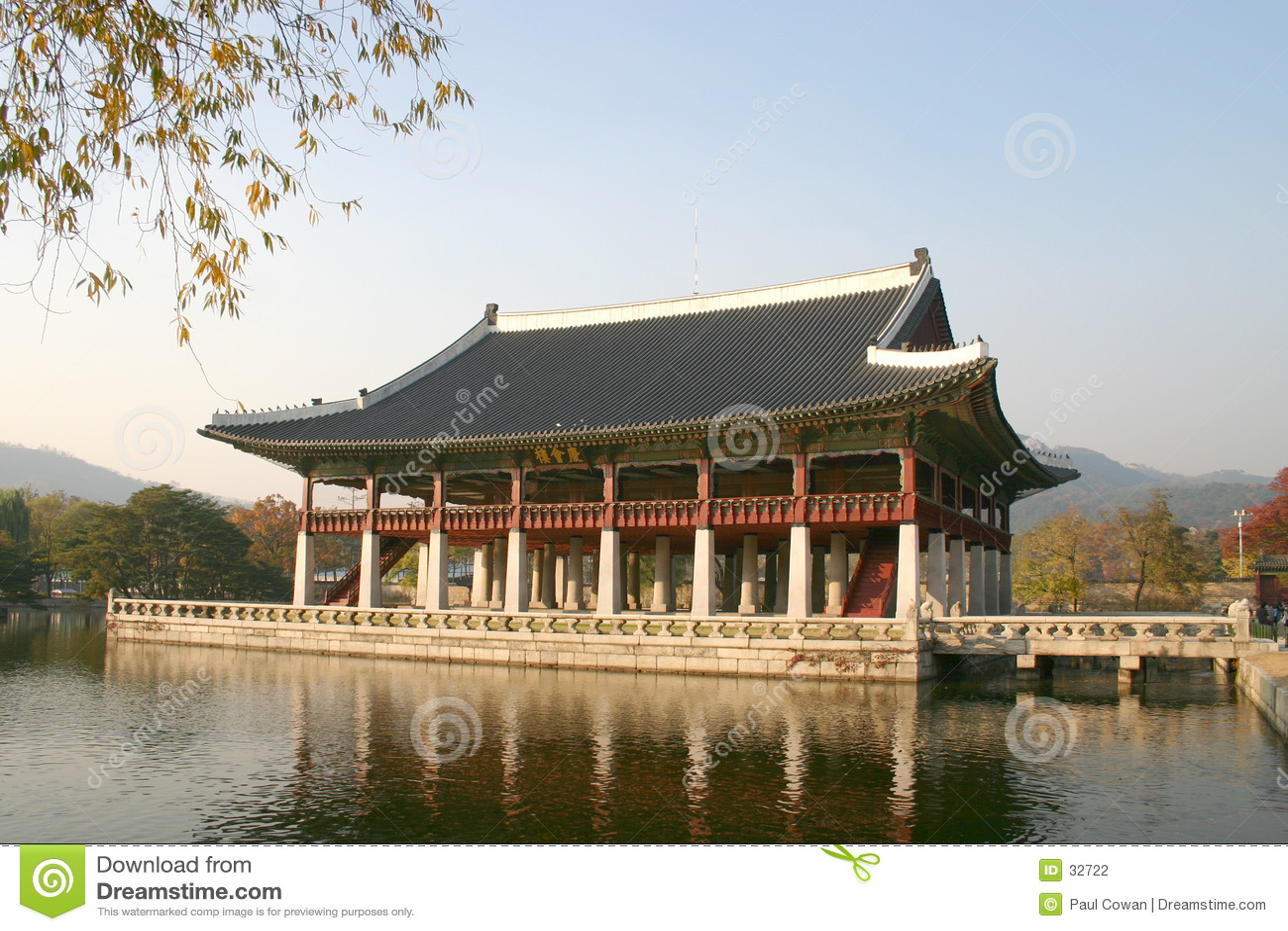Kyongbok Palast-Sitzungshalle, Korea