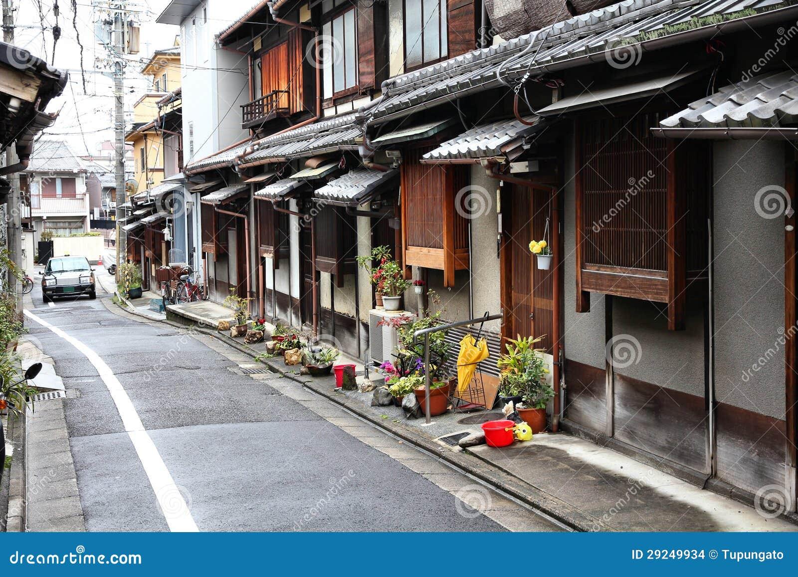Download Kyoto, Japão foto de stock. Imagem de wooden, japão, residential - 29249934