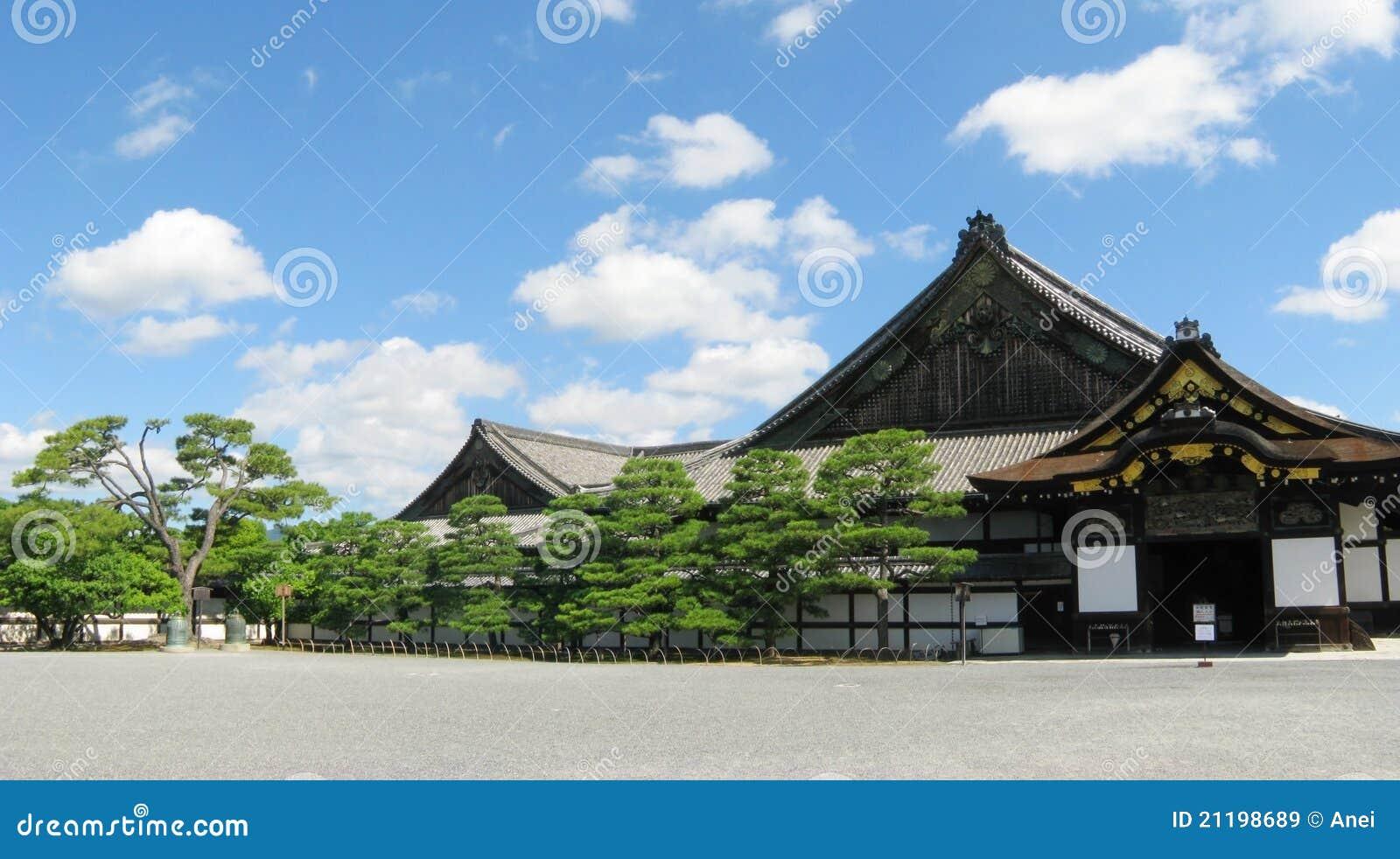 Kyoto Nijo castle buildings