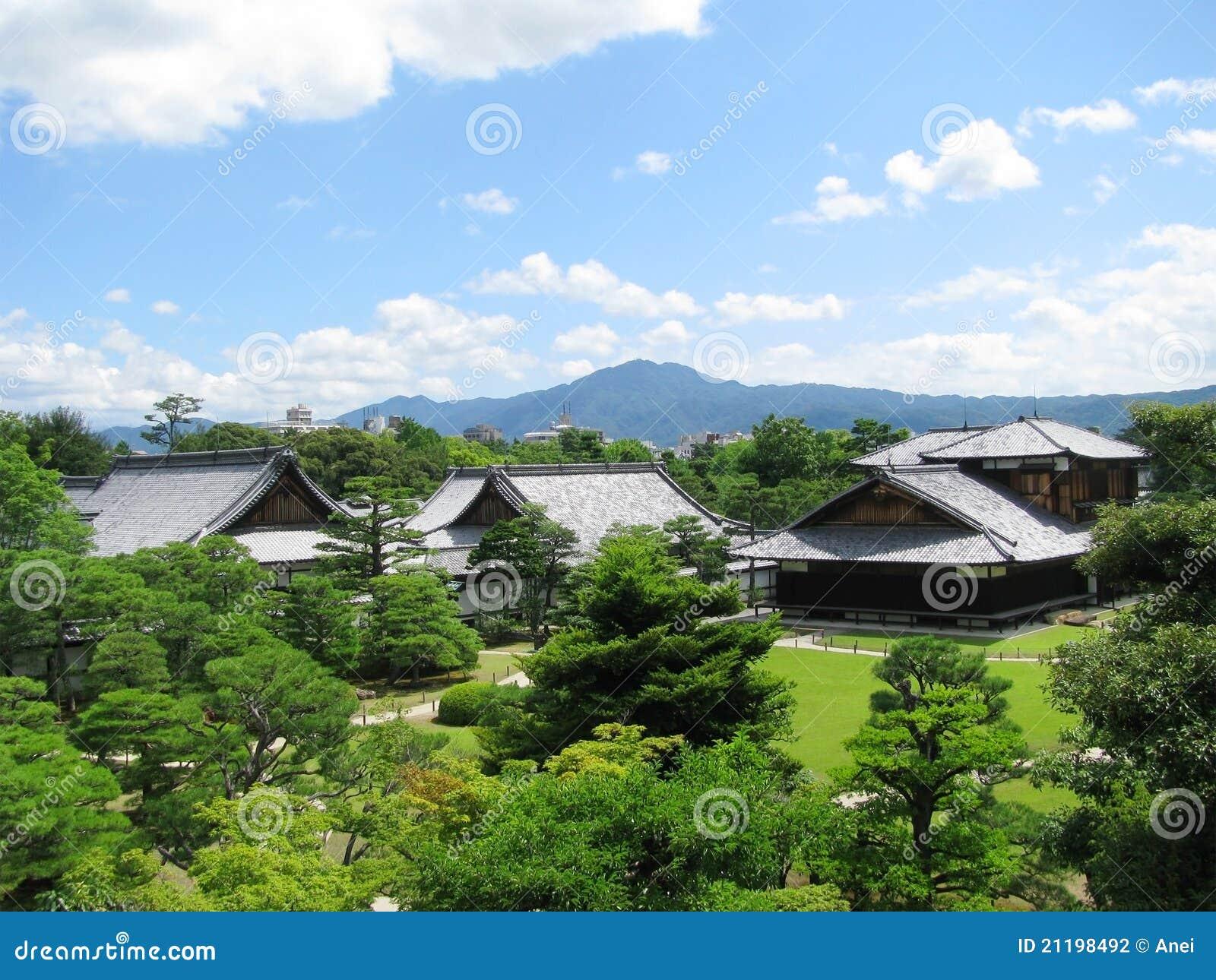 Kyoto Nijo castle gardens