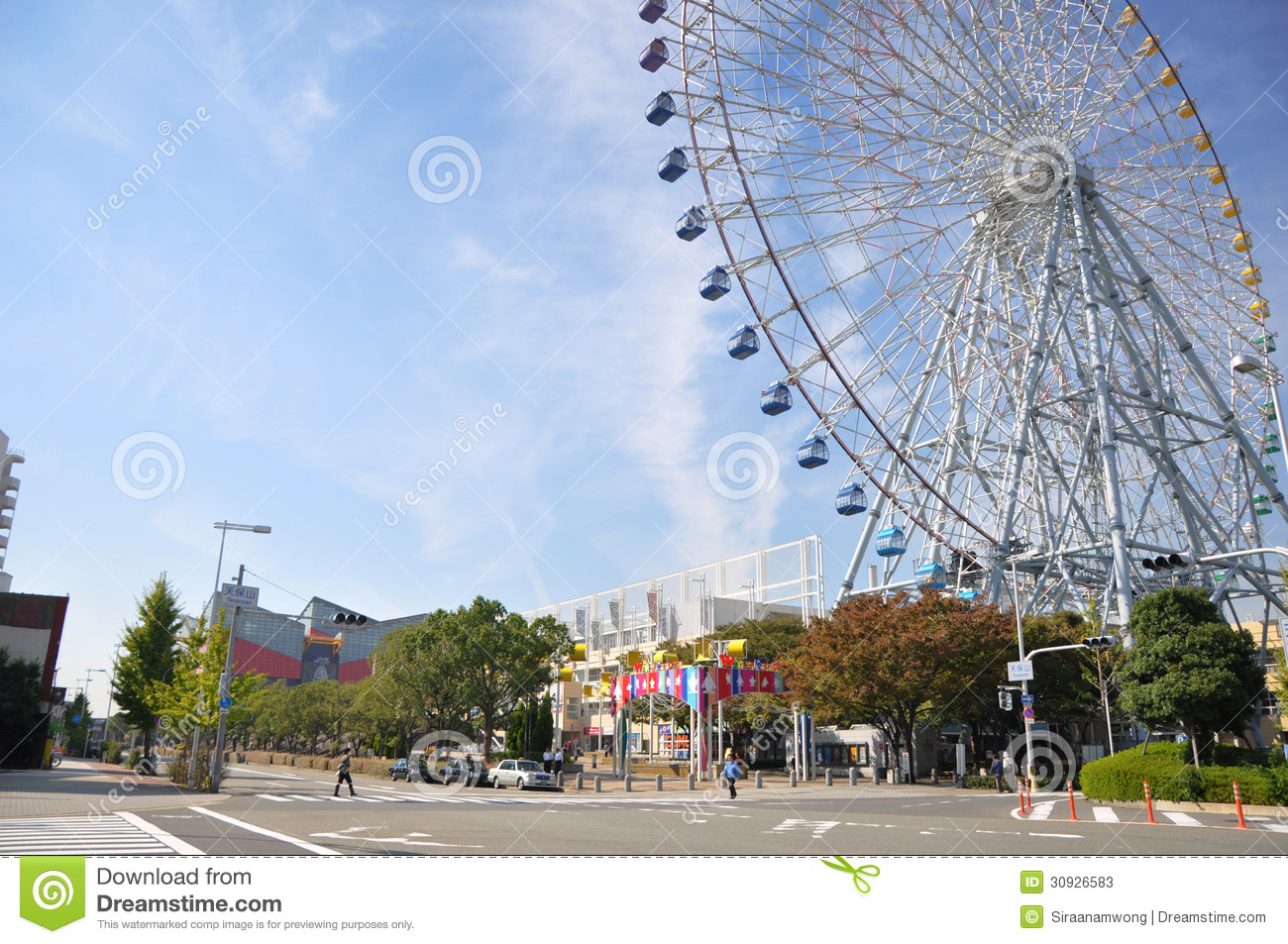Vacation Cabin Plans Kyoto Oct 23 Ferris Wheel In Tempozan Harbor Village