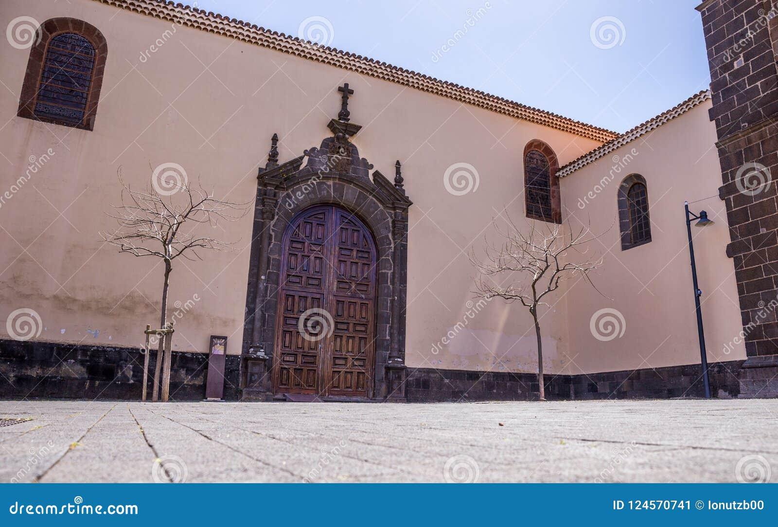Kyrka av Concepcionen, San Cristobal de La Laguna, Santa Cruz de Tenerife, Spanien