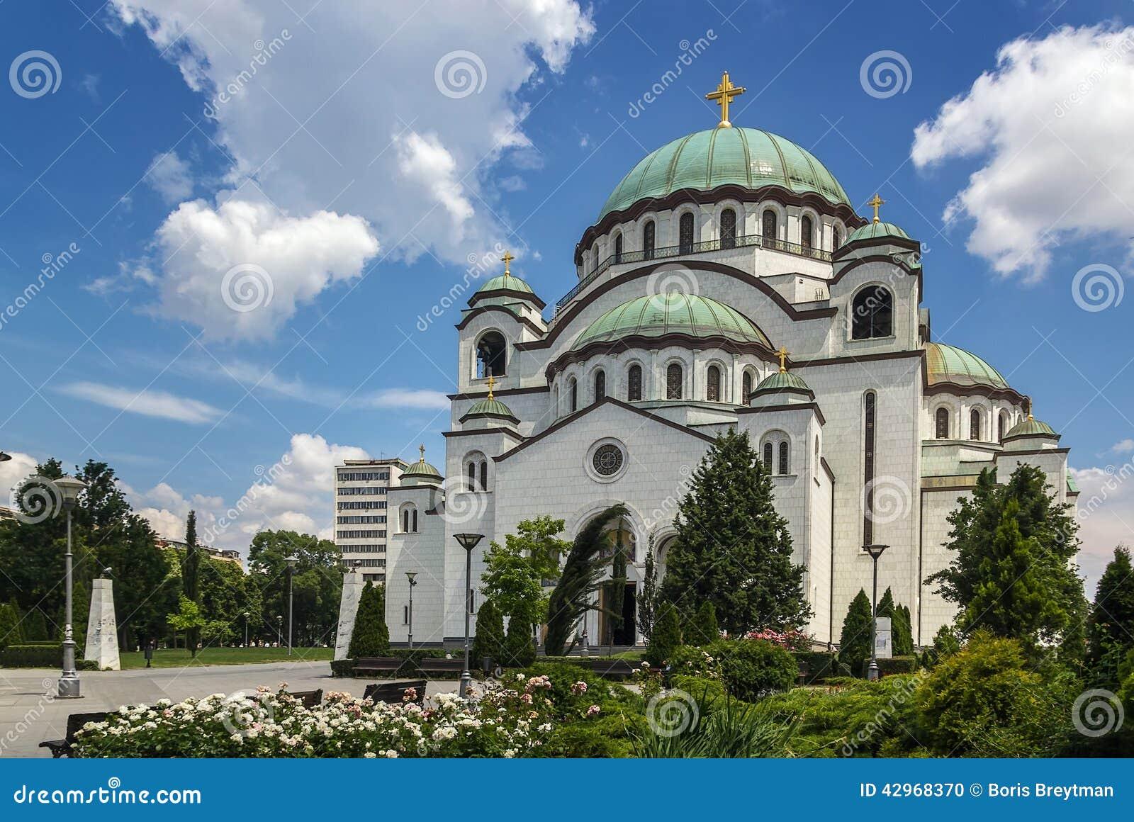 Kyrka av helgonet Sava, Belgrade