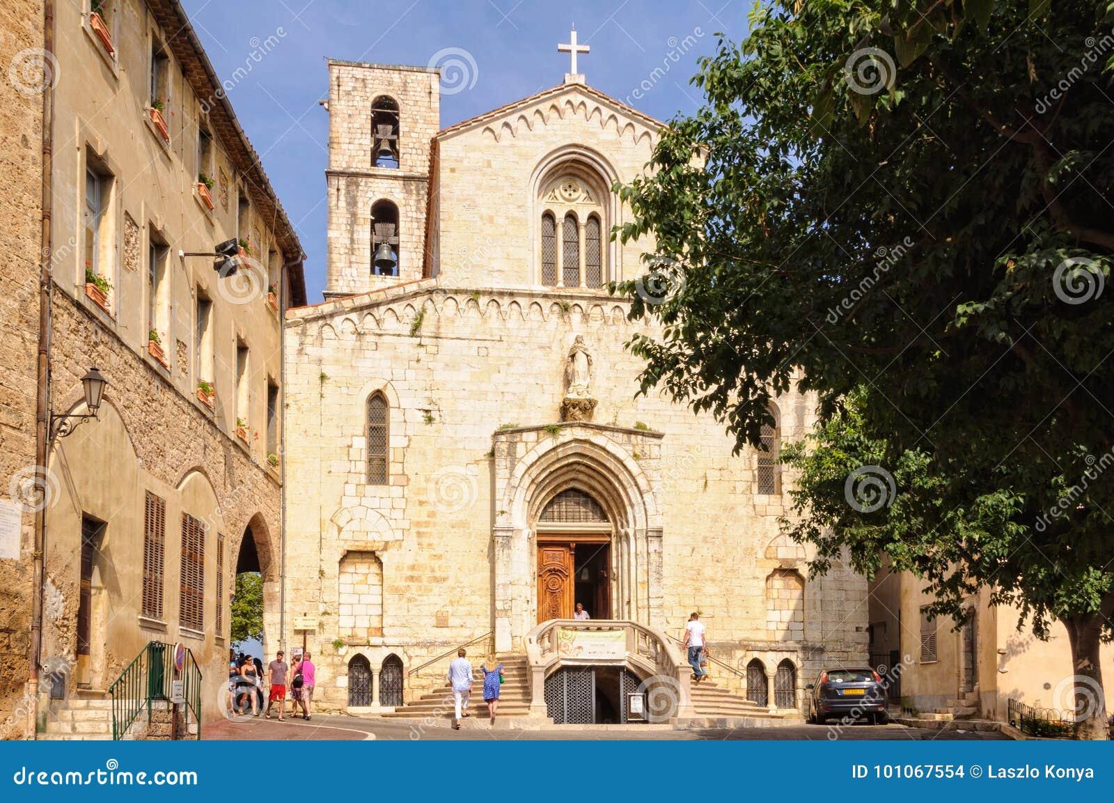 Kyrka av Notre Dame du Puy - Grasse