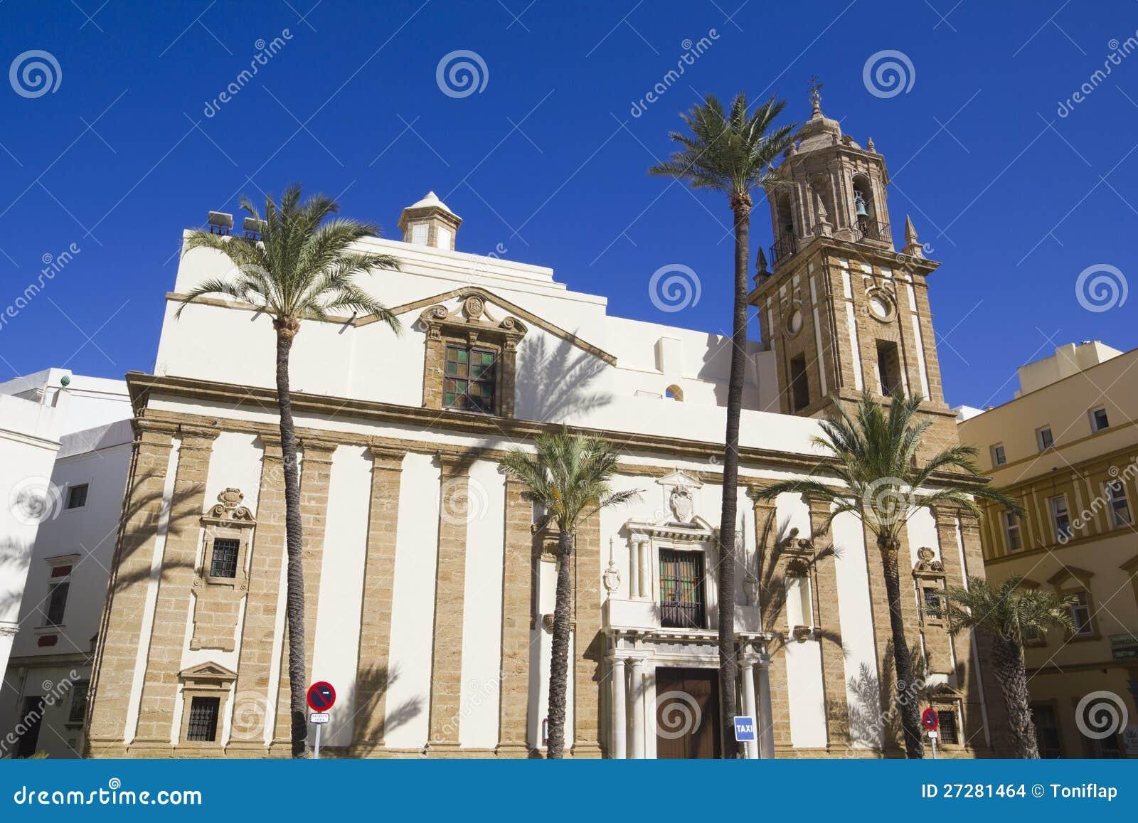 Kyrka av Santiago. Domkyrkafyrkant