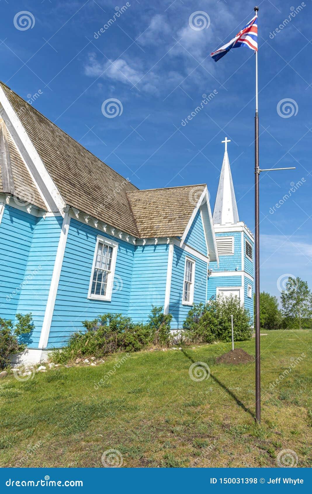 Kyrka för St Edmunds i den stora dalen, Alberta