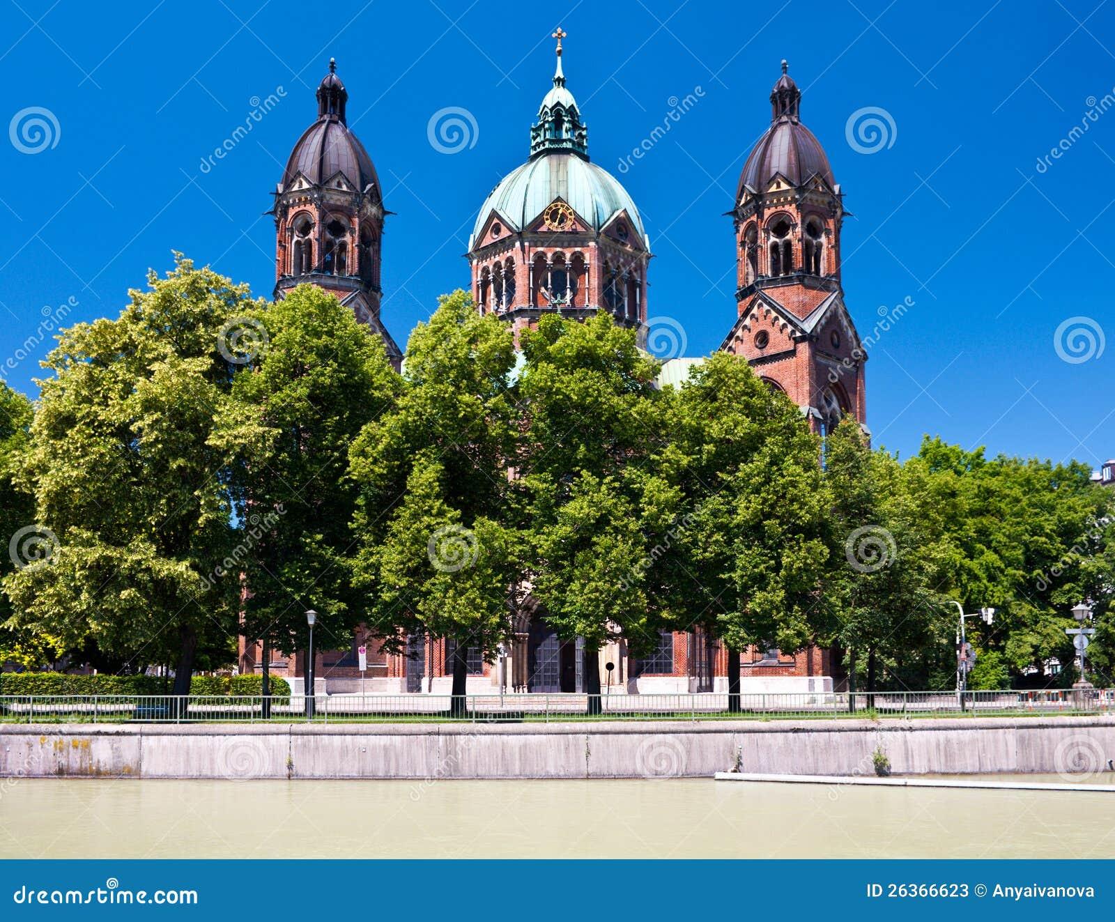 Kyrka för St. Lukas, Munich, Tyskland