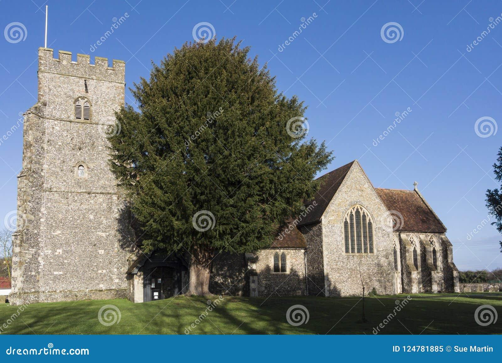 Kyrka för St Marys, Chartham, Kent