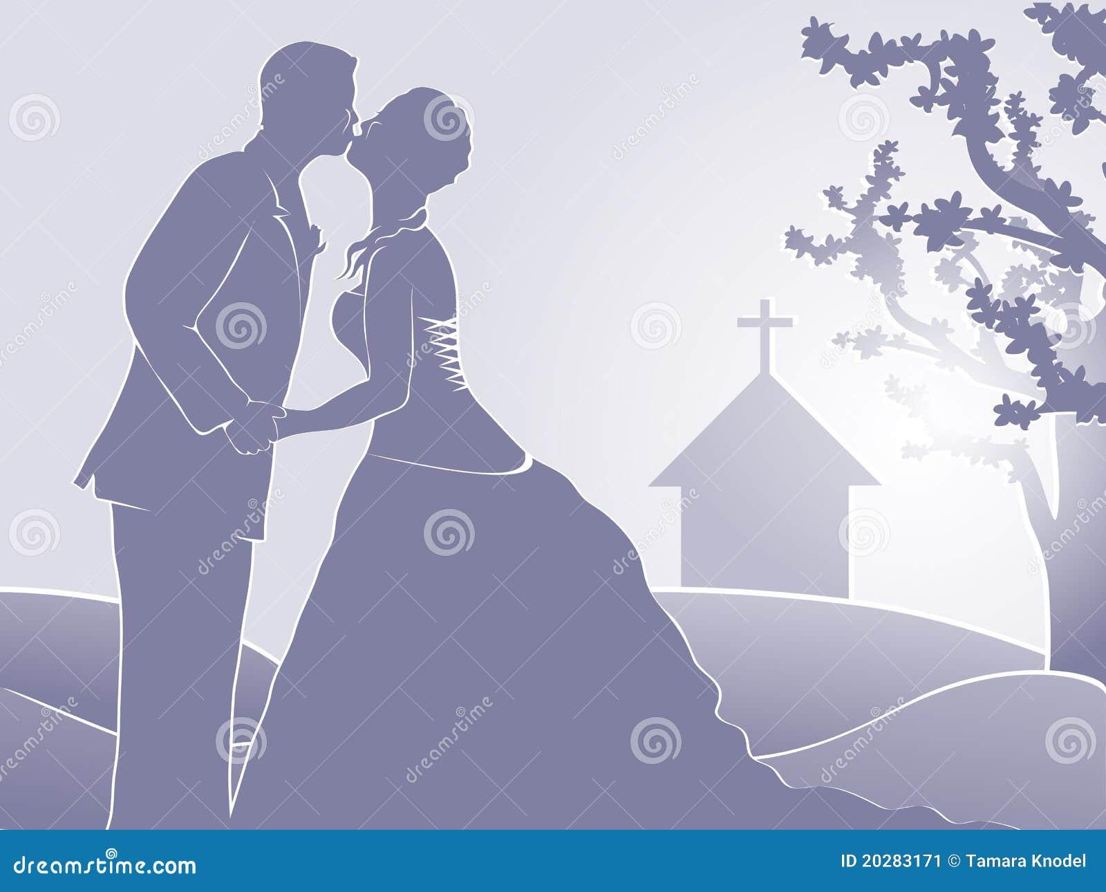 Kyrka som att gifta sig bara