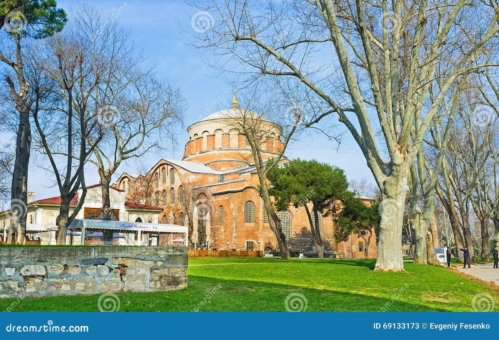 Kyrkan av Hagia Irene