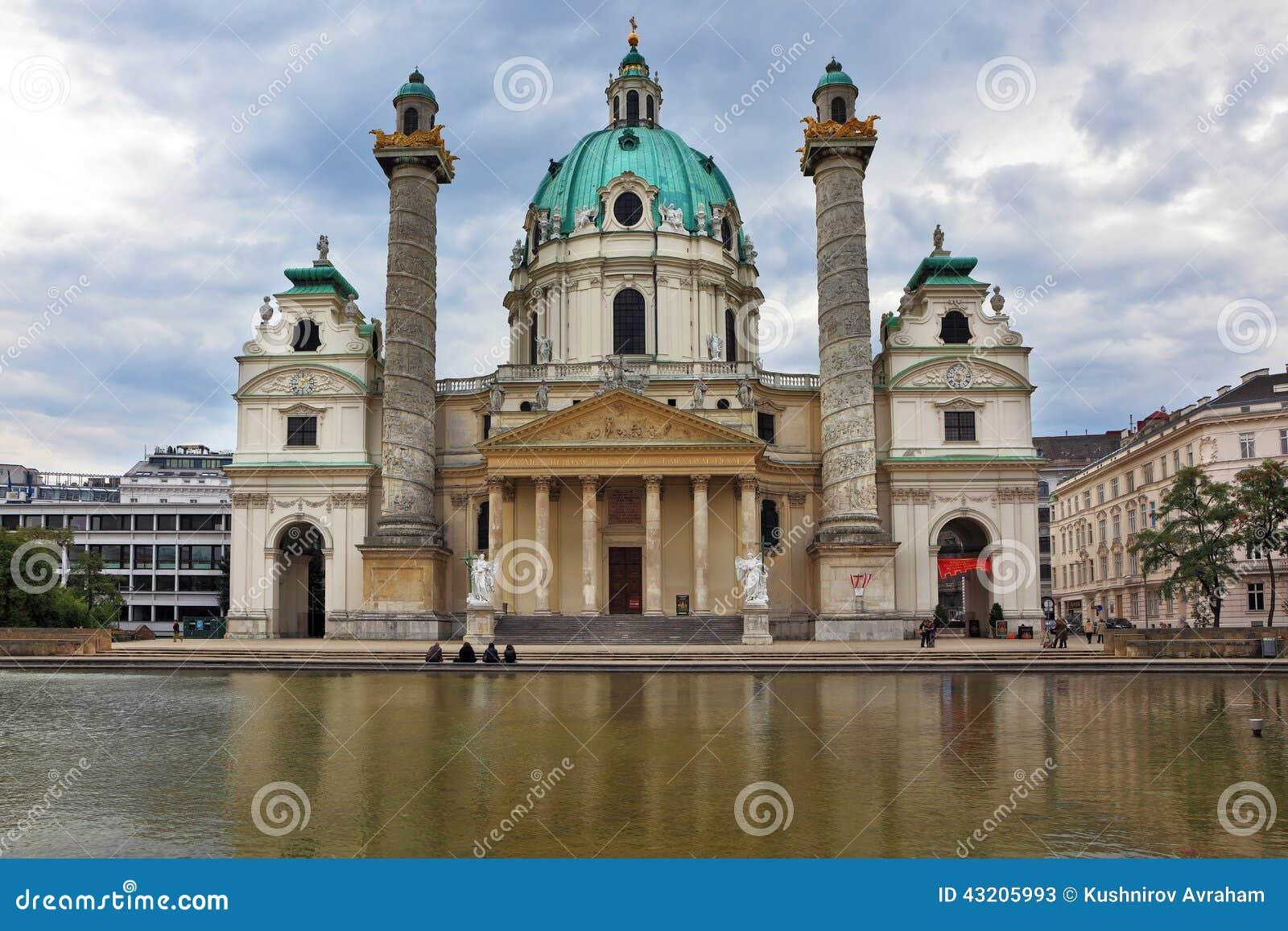 Download Kyrkan Av St Charles Borromeo Redaktionell Arkivfoto - Bild av utomhus, bygganden: 43205993