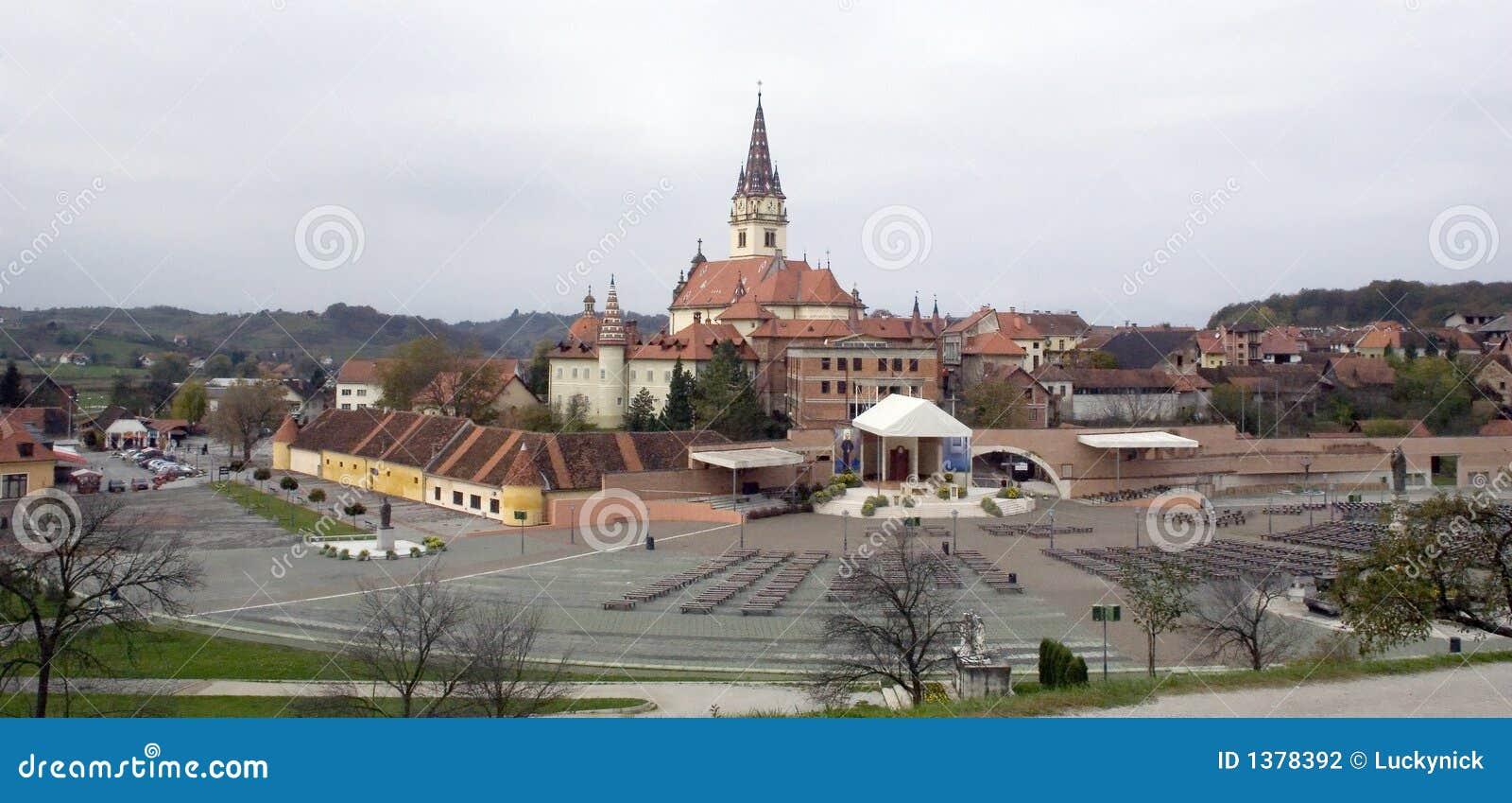 Kyrklig croatia för bistrica marija