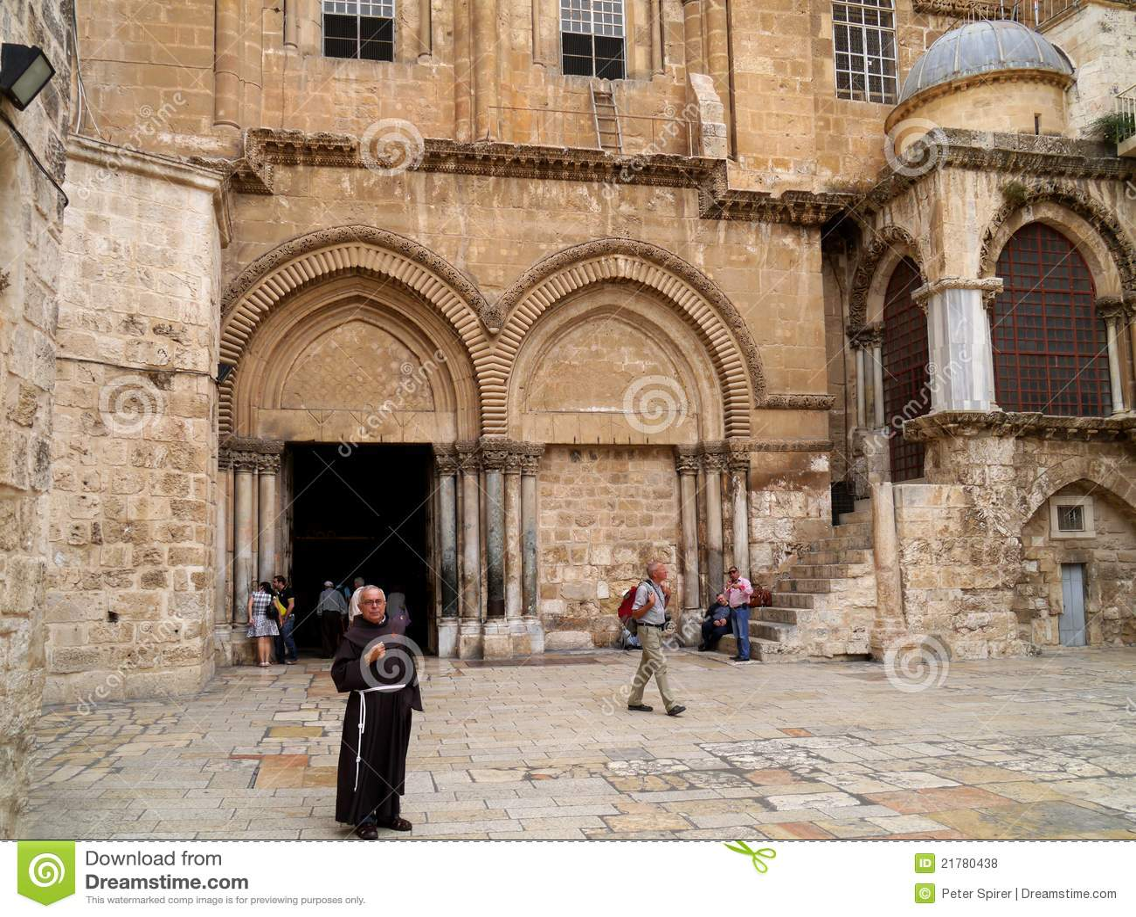 Kyrklig helig jerusalem sepulchre