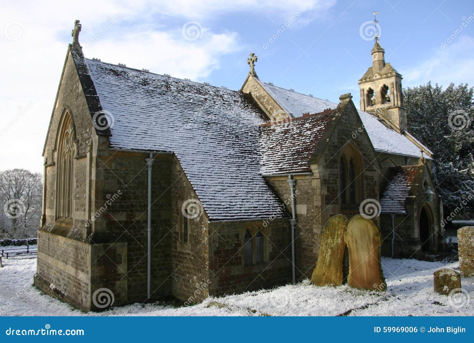 Kyrklig snow