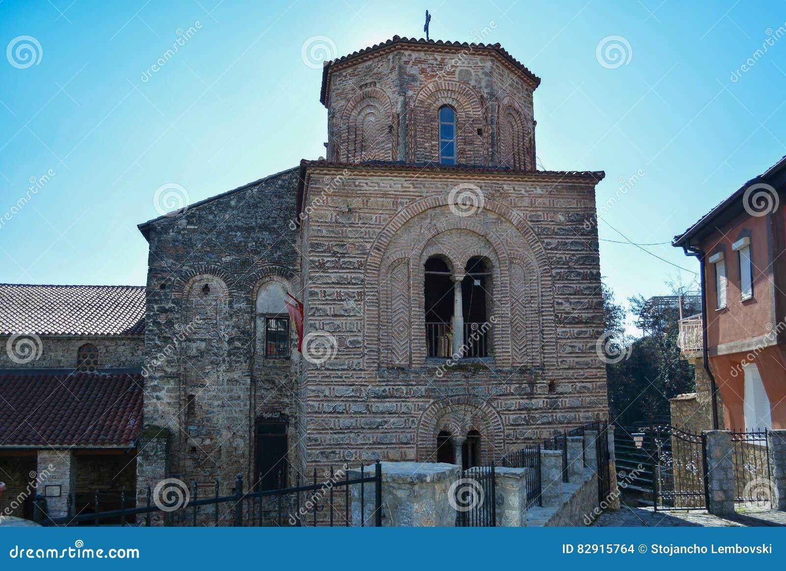 Kyrkliga StSophia i Ohrid