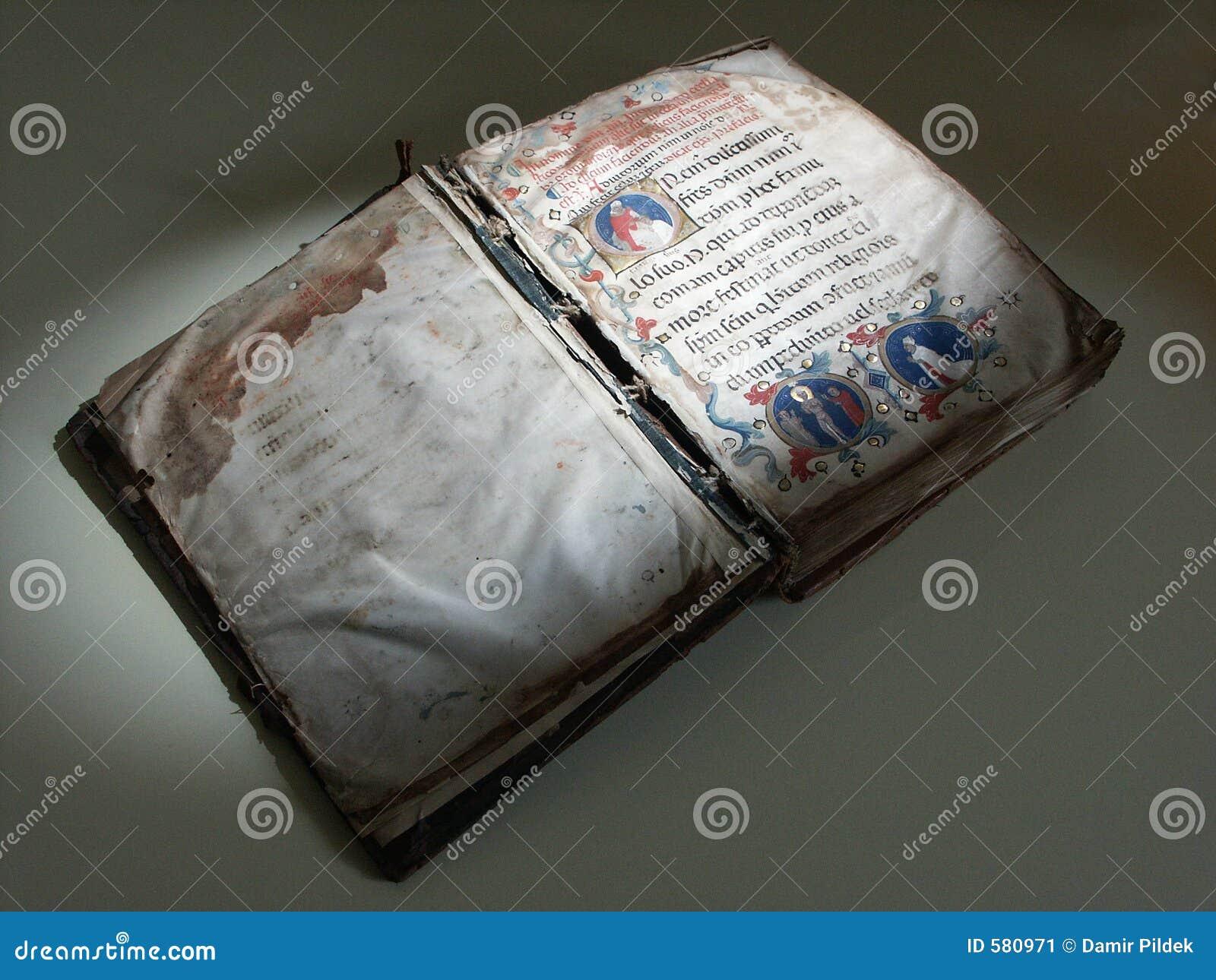 Kyrkligt gammalt för bok