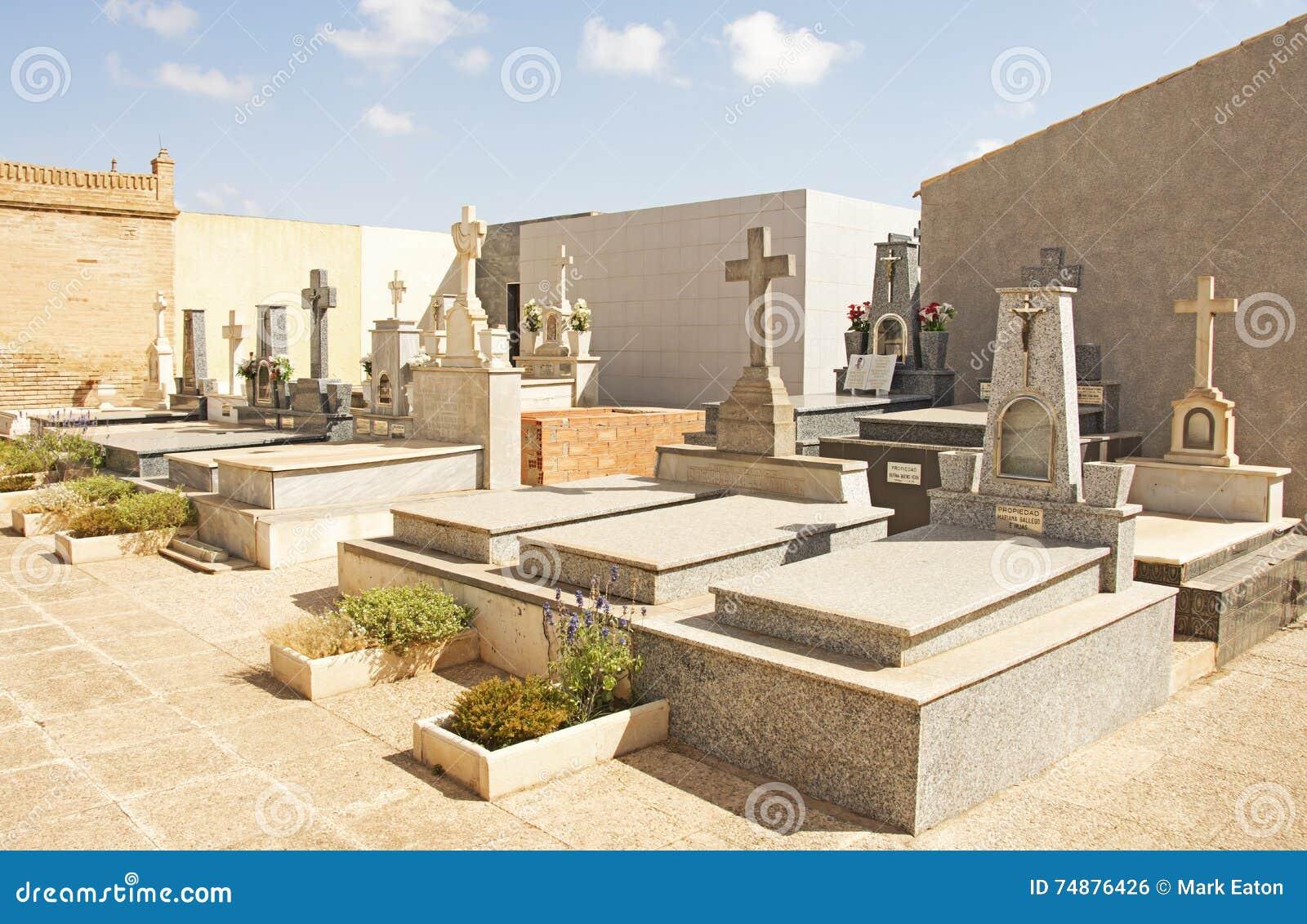 Kyrkogård i Spanien