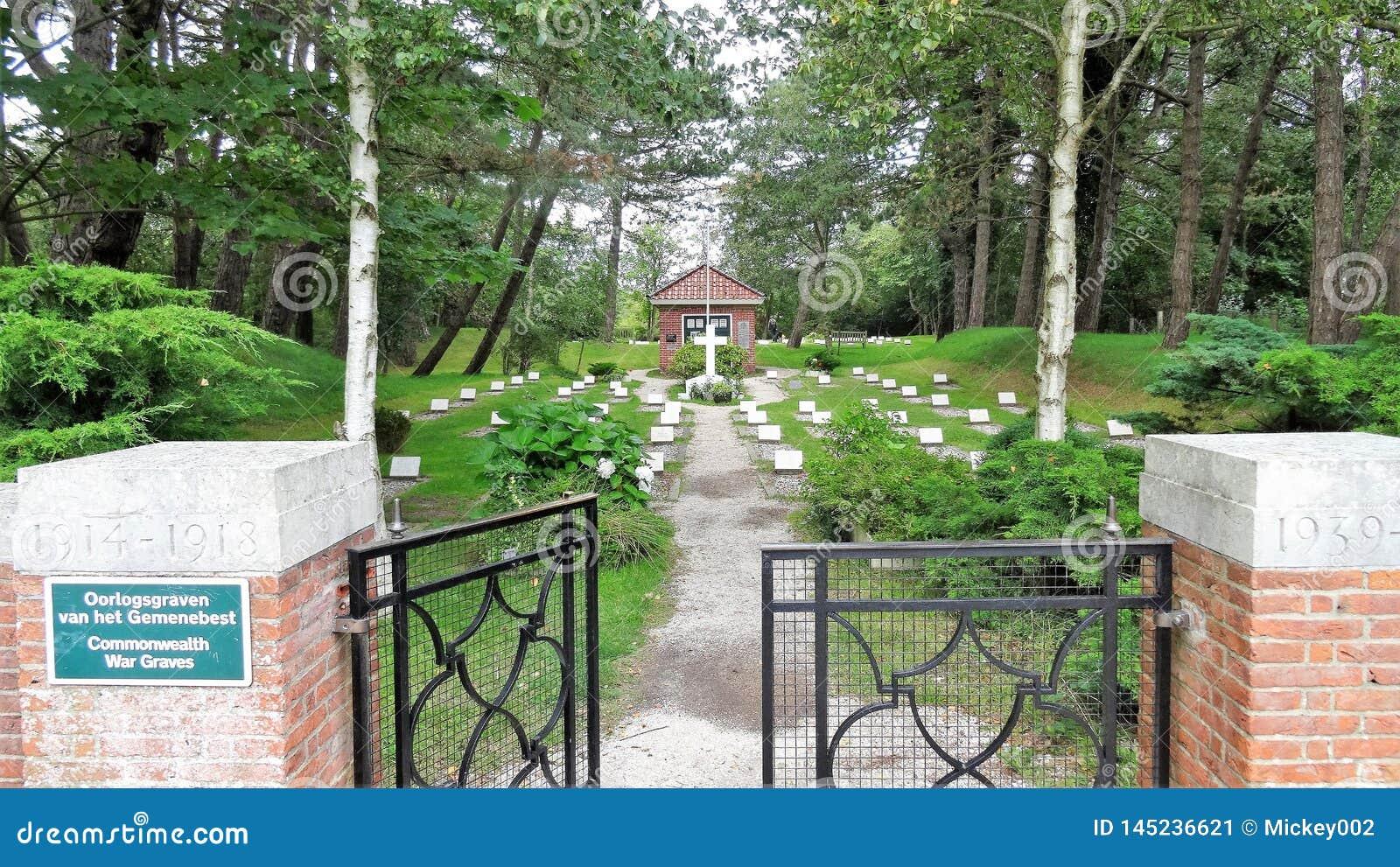 Kyrkogård Schiermonnikoog