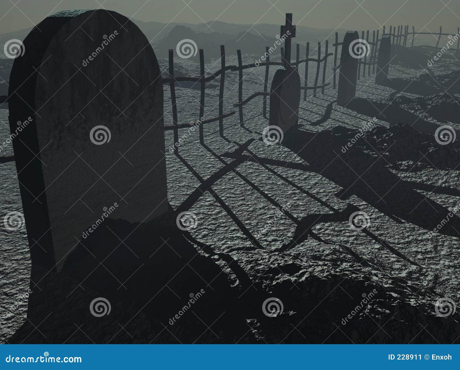 Kyrkogårddark