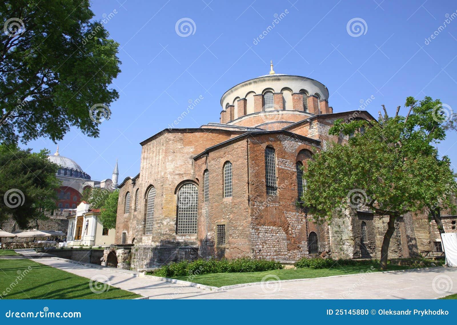 Kyrktaga hagiaen irene istanbul