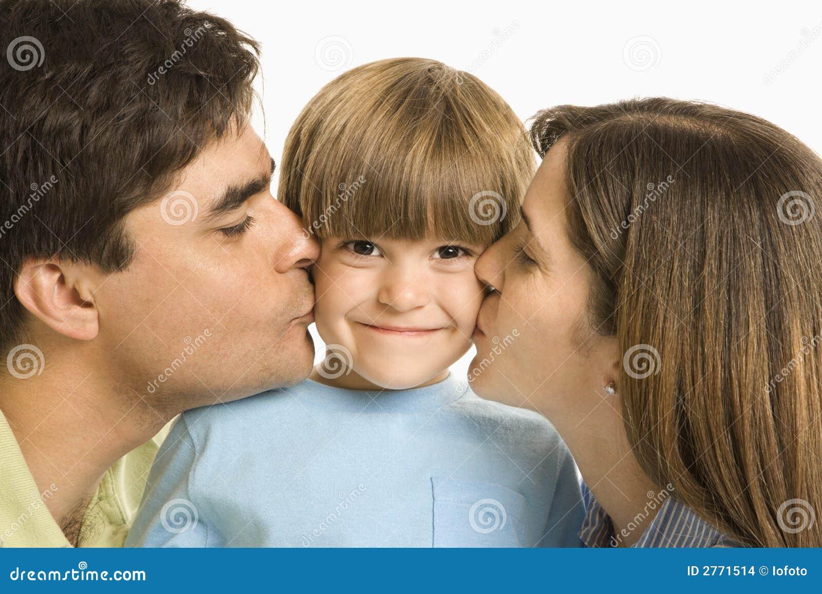 Kyssande förälderson