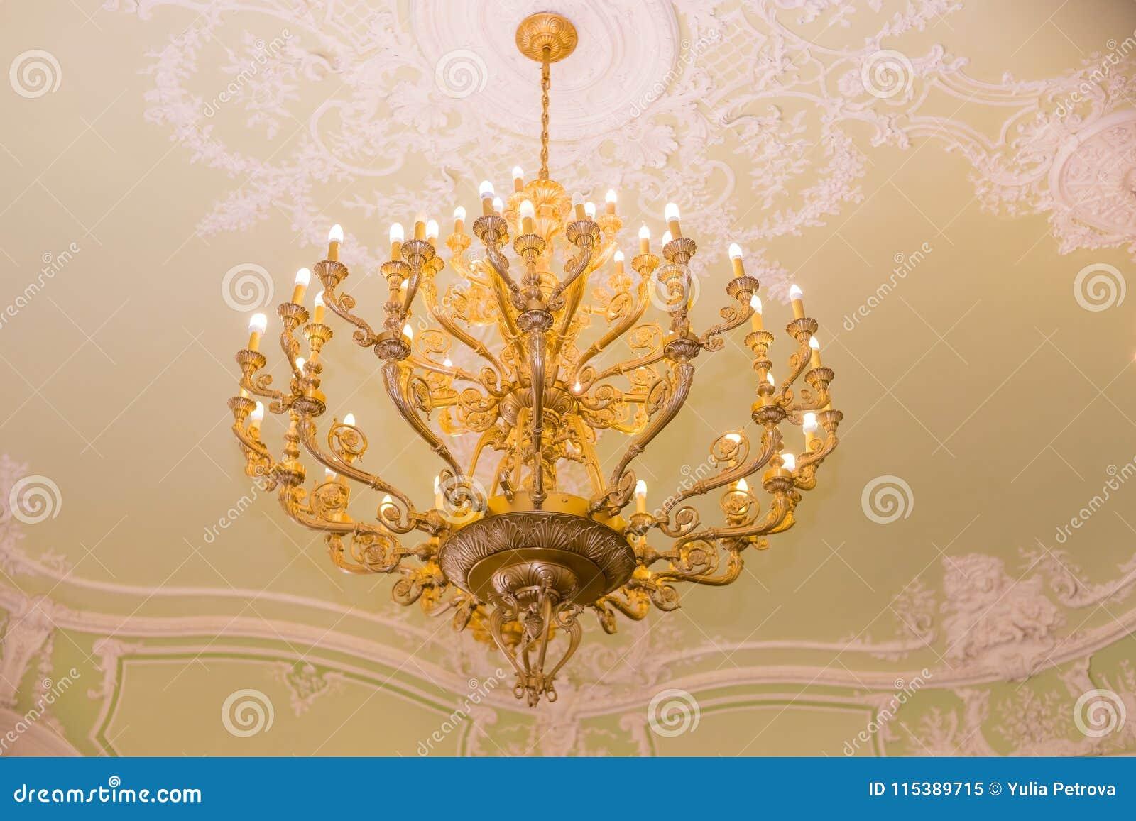 Cristalina Elegante Del Vintage Lámpara Lámpara Colgante Del zMSUVpq