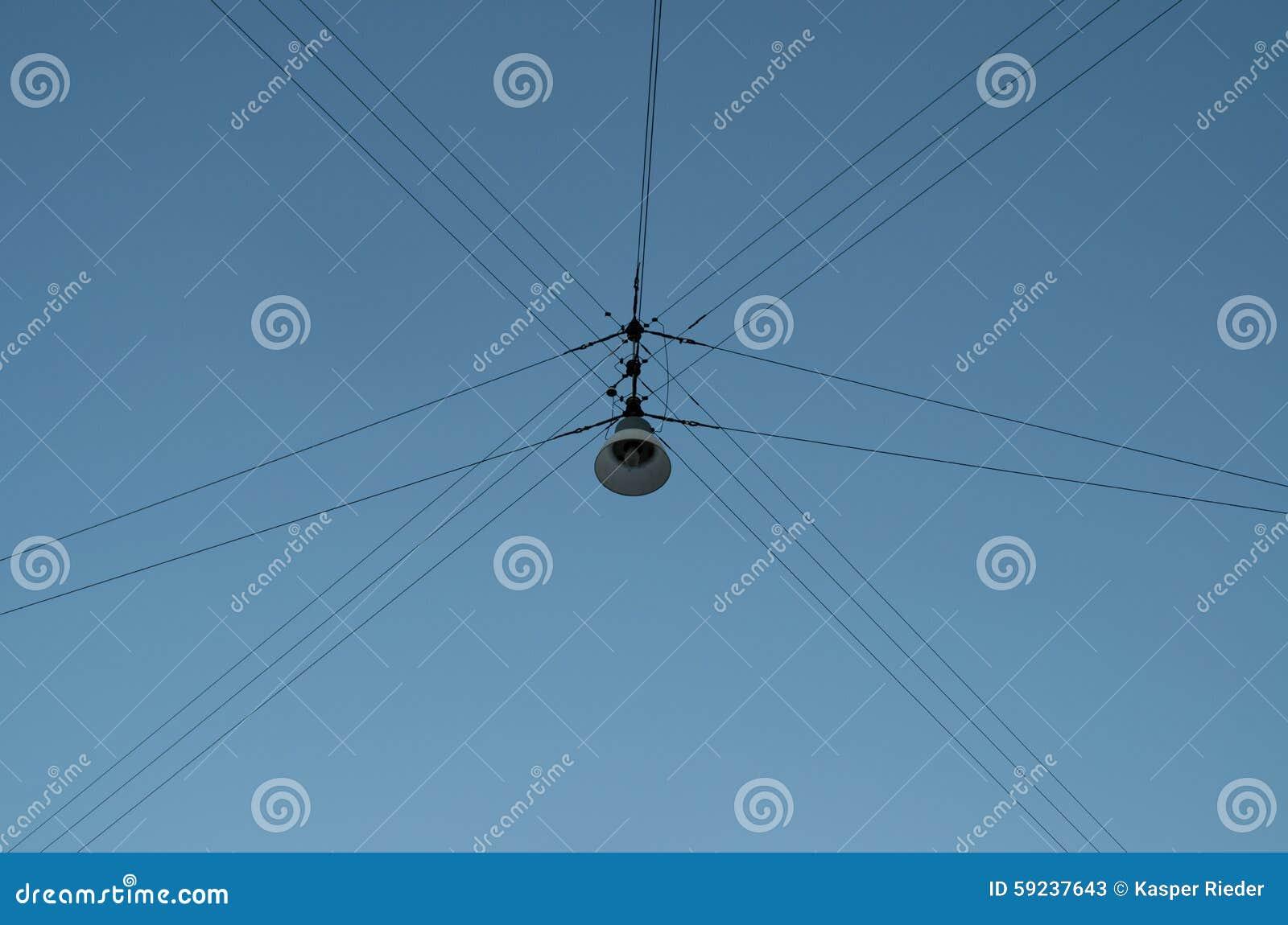 Lámpara de calle colgante