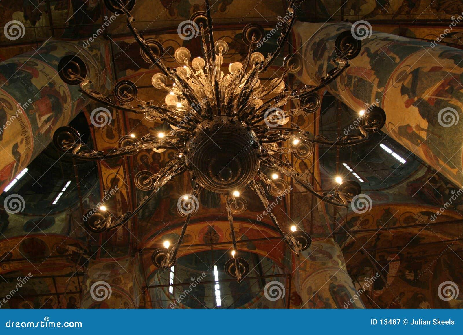 Lámpara en el Kremlin