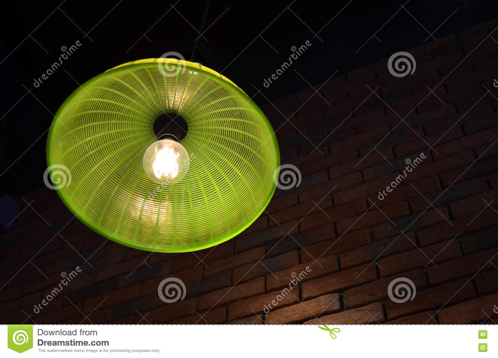 Verde Techo Plástica La Del De Cubierta De La Hecha Lámpara ZTkXuOPi