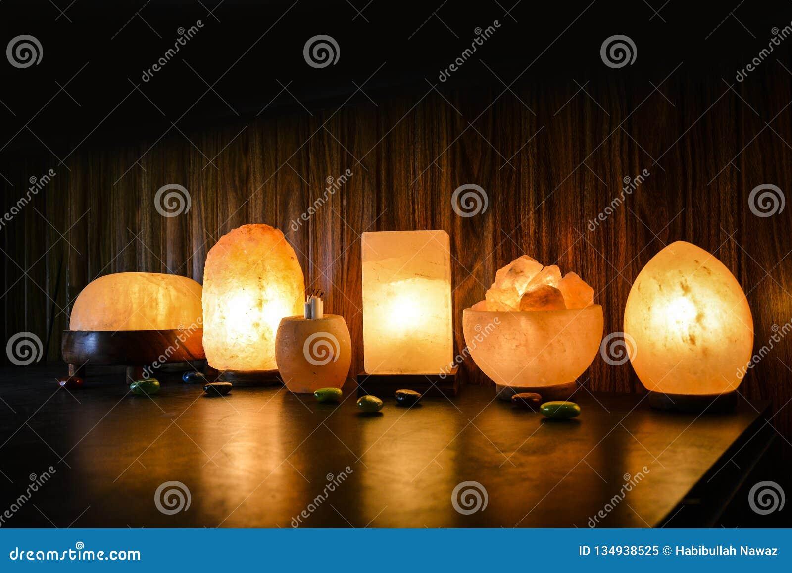 Lámparas naturales de la sal | Sal Himalayan