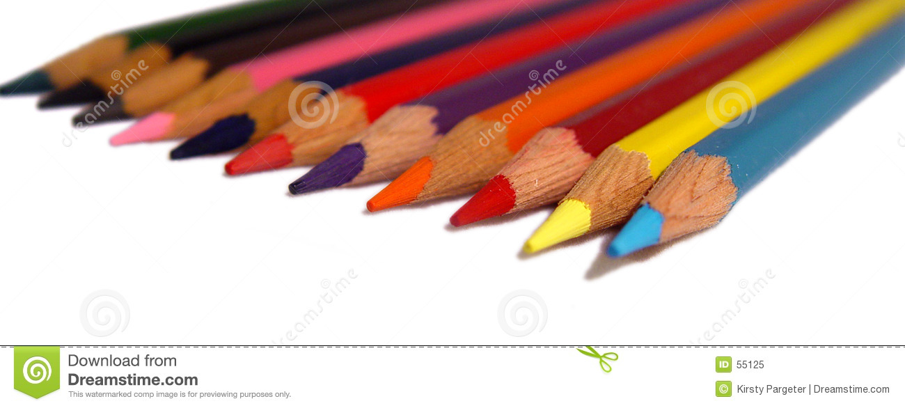 Lápices coloreados